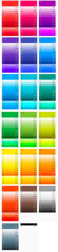 Material Design - Style - Color-UI Post a on for and get unlimited Ui Color, Colour Board, Design Color, Text Color, Colour Pallete, Colour Schemes, Color Palettes, Material Color Palette, Flat Color Palette