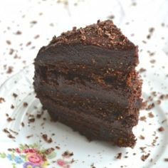 raw devil's food cake
