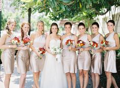 Gorgeous gold JCrew frocks | Anne Robert Photography