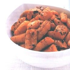Oven-roasted Carrots with Garlic and Coriander Recipe on Yummly. @yummly #recipe