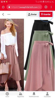 51 Asymmetrical Skirts For Teens - Natürel - Boutiquede Femme Modest Fashion, Hijab Fashion, Diy Fashion, Fashion Dresses, Mode Outfits, Skirt Outfits, Dress Skirt, Midi Skirt, Skirt Mini