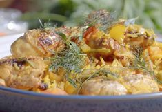 Summer Recipes, New Recipes, Cooking Recipes, James Martin Saturday Kitchen, Chef James Martin, Spanish Chicken, Morning Food, Saturday Morning, Spanish Style