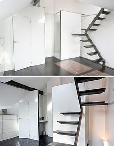 space saving stairs designs