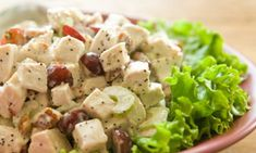 Салат с курицей и виноградом - Подборка интересных кулинарных