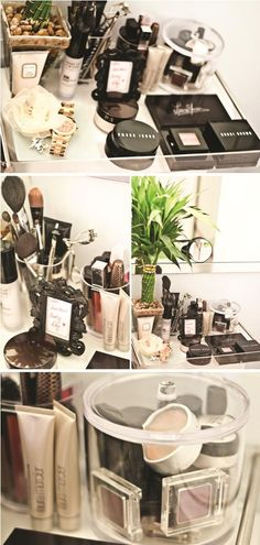 Samantha Marie: Image detail for -Makeup Organization For Small Spaces #Lockerz