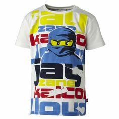 Amazon.com: Lego Wear Thor Ninjago Boys Short Sleeve Cotton T-Shirt White: Clothing