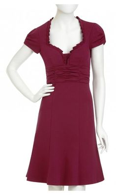 In Disguise Dress by Nanette Lepore. The neckline is adorable.