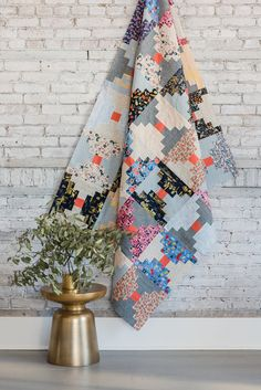 Rifle Paper Courthouse Steps Quilt — BIJOU LOVELY
