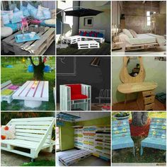 60 creations made from pallets