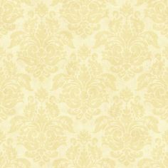 Lovely yellow damasks designer wallcovering by Brewster. Item CKB77723. Lowest prices and free shipping on Brewster products. Search thousands of designer walllpapers. Swatches available. Width 20.5 inches.