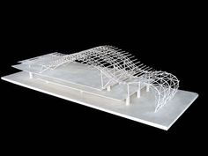 Kansai International Airport Truss Model
