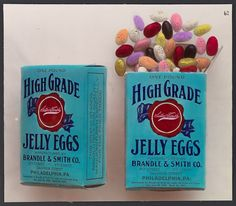 Schadde Brothers, High Grade Jelly Eggs, c.1915 (source).