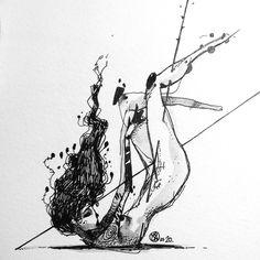 All my inktober 2014 drawings. art i like art, ink art Dark Drawings, Psy Art, Guache, Arte Horror, Dark Art, Inktober, Unique Art, Art Inspo, Art Sketches