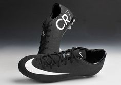 official photos 0e835 6758e 2018 Black   white Mercurial Superfly V CR7 Men s Firm-Ground Soccer Cleat  Boots