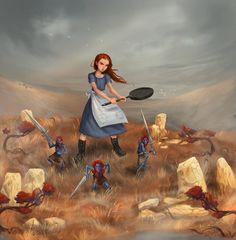 http://the-discworld-guild.deviantart.com/art/Tiffany-Aching-520869782