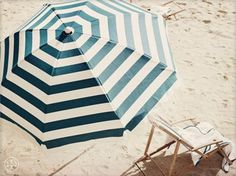 fun! Wish it came with a matching cabana!    big striped umbrella to make an escape from the sun