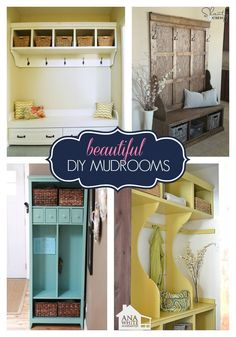 Project Roundup: Mudroom Solutions | Ana White