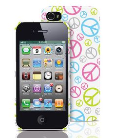 Take a look at this Peace Out iPhone 4/4S Case by Merkury Innovations on #zulily today!