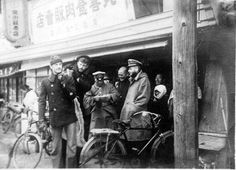 pics of German POWs in Japan. They could go shopping to downtown.