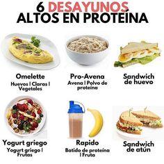 La imagen puede contener: texto y comida Comidas Fitness, Planning Menu, Healthy Life, Healthy Eating, Health And Nutrition, Vegan Recipes, Good Food, Food Porn, Food And Drink