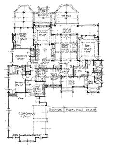 Old Classic Floor Plans. 1890s 2 story home Artistic city