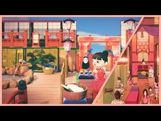 Animal Crossing Pc, Spring Design, Spirited Away, Hot Springs, Studio Ghibli, Haha, Qr Codes, Videogames, Travel