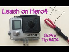 How To Put Leash On Hero4's Case - GoPro Tip #404
