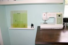 Remodelaholic   Amazing Craft Room / Office Space
