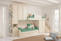 76 Cute Kids Bedroom Furniture Bunk Beds Ideas - About-Ruth Bunk Beds For Girls Room, Bunk Beds With Stairs, Kid Beds, Girls Bedroom, Loft Beds, Dream Bedroom, Childrens Bedroom, Kid Bedrooms, Bedroom Loft