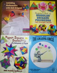 Math = Love: The Long Wait for Origami is Over! Student Teaching, Math Teacher, Math Classroom, Maths, Waldorf Math, Waldorf Curriculum, Waldorf Education, Activity Games, Math Games