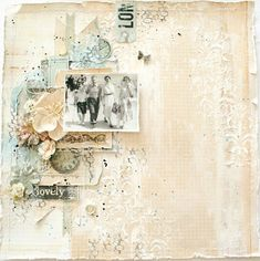 lovely by Lisa Griffith for The Scrapbook Diaries