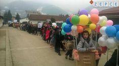 Foto: U Žepču održana tradicionalna 8. Karnevalska povorka učenika i nastavnika OŠ Žepče