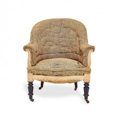 Bruges Antique Tufted Chair