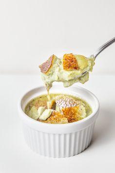 Matcha Coconut Crème Brulee 15 mins prep  8 ingredients to make  Mein Blog: Alles rund um Genuss & Geschmack  Kochen Backen Braten Vorspeisen Mains & Desserts!
