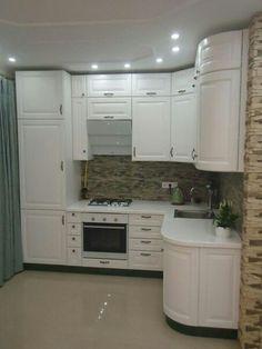 Beautiful Custom Kitchen Cabinets Ideas Around The World Kitchen Corner, Kitchen Sets, Kitchen Pantry, New Kitchen, Kitchen Decor, Kitchen White, Custom Kitchen Cabinets, Cuisines Design, Küchen Design