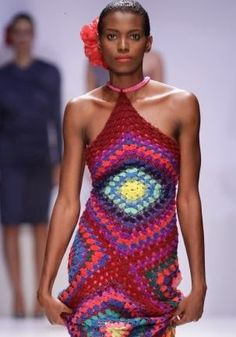 Creative ways to wear your granny squares.
