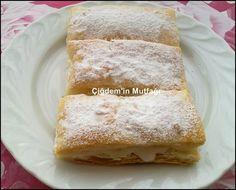 Çiğdem'in Mutfağı: muhallebili milföy