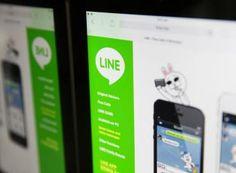 como funciona line,la competencia de WhasApps