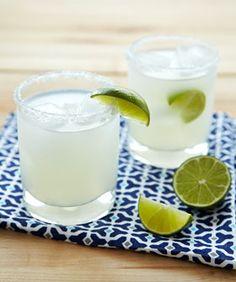 The Perfect Margarita  2 oz Tequila 1 oz fresh lime 3/4 oz Triple Sec 1 tsp simple syrup (1:1 sugar to water)