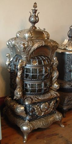 antique parlor stove...gorgeous!!!