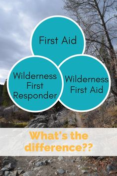 first aid for hikers and backpackers