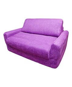 Look what I found on #zulily! Purple Micro-Suede Sleeper Sofa by Fun Furnishings #zulilyfinds