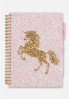 Justice is your one stop shop for on trend styles in tween girls clothing & accessories. Shop our Unicorn Spiral Journal. Unicorn Fashion, Unicorn Outfit, Cute Unicorn, Stationary Supplies, Cute Stationary, Unicorn Stationary, Unicorn Room Decor, Unicorn Bedroom, Cute Journals