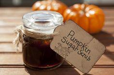 Pumpkin Sugar Scrub
