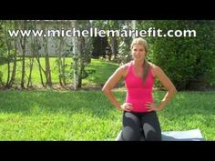 If you want to TONE your arms & #abs, this is a great #exercise for the midsection or waistline and its great to tone the shoulders.  You don't need any equipment.