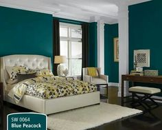 I Love This Color Bedroom