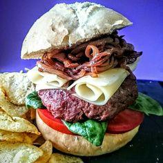 Homemade Ox Burger