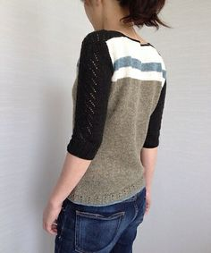 knit / knitting pattern Cocktail(Jumper) by La Maison Rililie: FO by rywt on ravelry