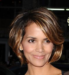 Wish Halle Berry would grow her hair back like in this chin length bob