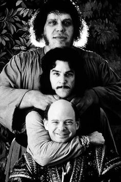 Wallace shawn in national lampoons vegas vacation andre the giant mandy patinkin and wallace shawn on the set of the fandeluxe PDF